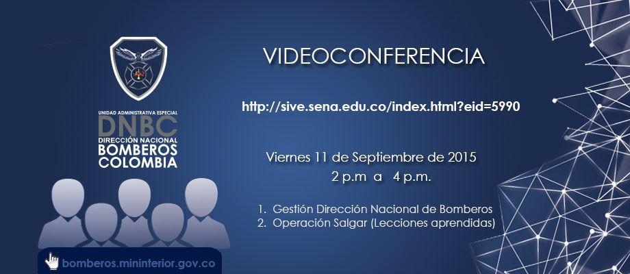 Videoconferencia DNBC