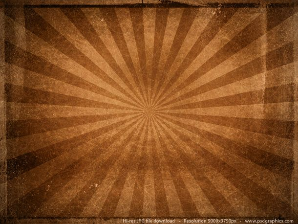 Brown Vintage Sunbeam Background