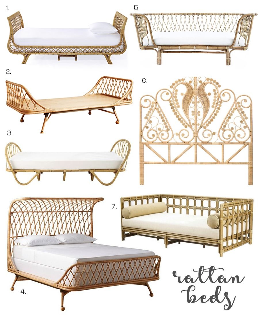 Sweet rattan dreams home decor bedroom rattan home