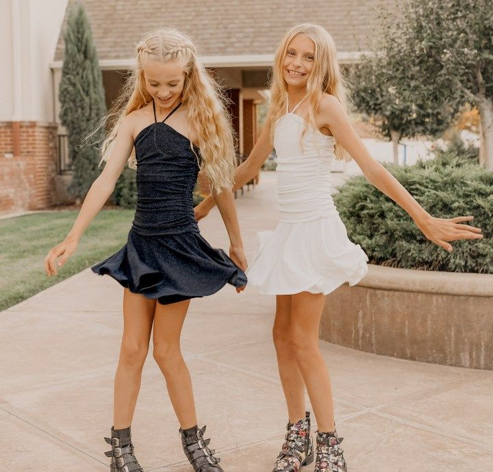 c1cded0e0 GiGi Ri – MINI FASHION ADDICTS girls party looks, tween dressed up, teen  party outfit, sequence, tween fashion, teen fashion, sisters, new years eve  outfit, ...