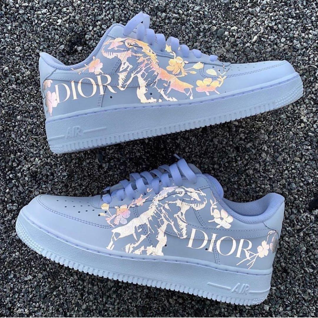 """nouă pantofi de separare bun velaire.woman on Instagram: """"Dior X Airforce 😍 Tag a Friend Who'd ..."""