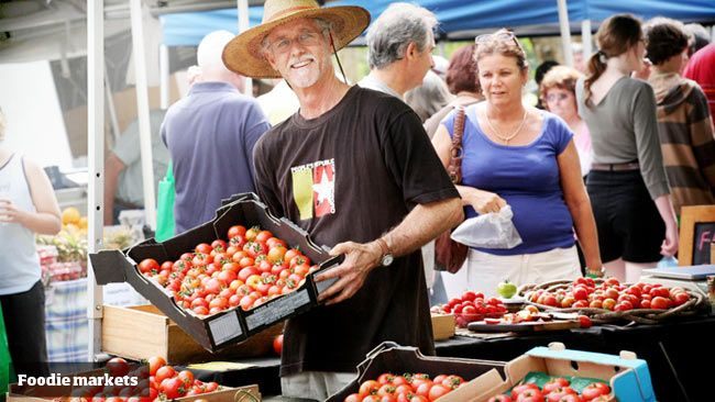 Best foodie markets in southeast Qld and northern NSW Noosa Farmers market