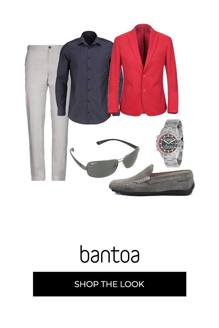 1c0f9480e0 I pantaloni grigio chiaro Marina Yachting sono abbinati ad una ...