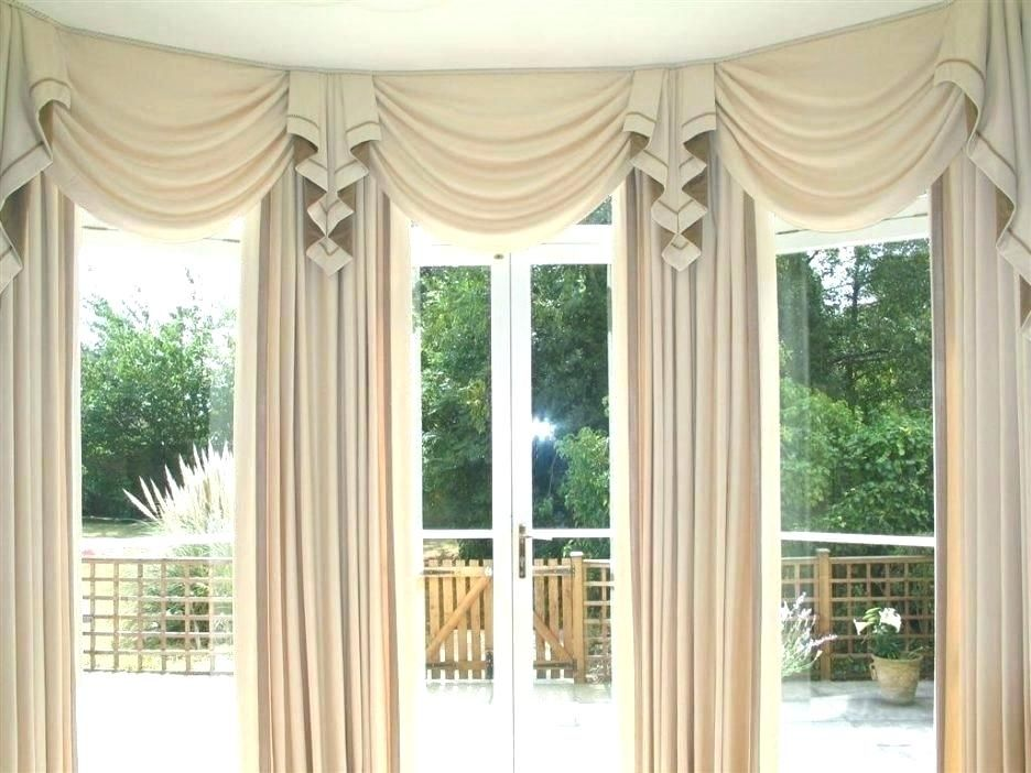 Fresh Curtains Valances And Swags Snapshots Awesome Curtains Valances And Swags Or Cheap Swag Cu Big Window Curtains Large Window Curtains Bay Window Curtains #window #valance #ideas #for #living #room