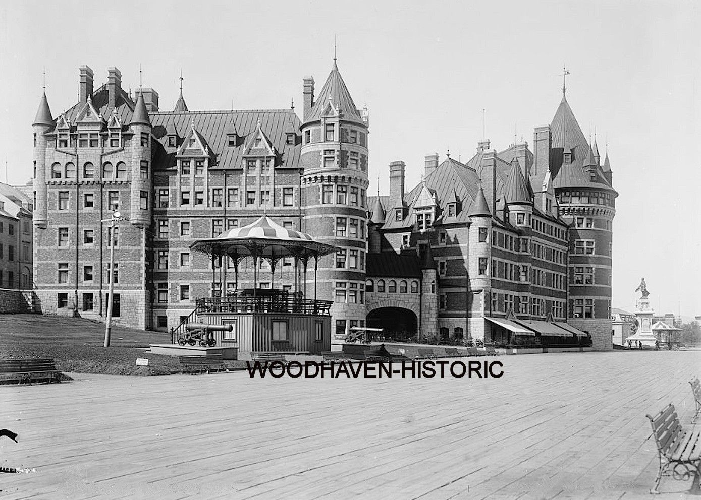chateau frontenac quebec 1890 photo quebec history pinterest qu bec ville de qu bec et. Black Bedroom Furniture Sets. Home Design Ideas