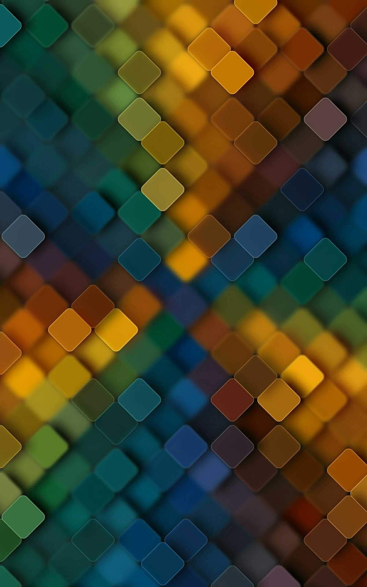 Color Scheme Block Wallpaper | *Abstract and Geometric Wallpapers | Qhd wallpaper, Cellphone ...