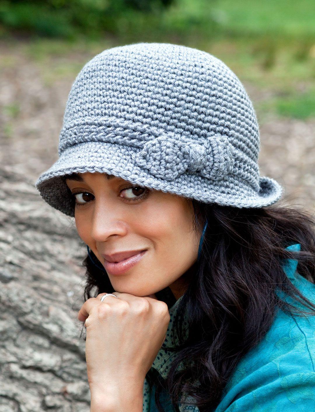 Elegant Hat | Yarn | Free Knitting Patterns | Crochet Patterns ...