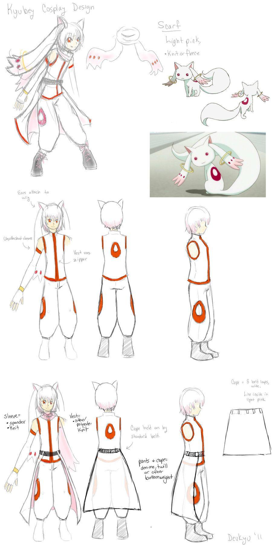 Kyubey Cosplay Design By Devkyu On Deviantart Nerd Crafts
