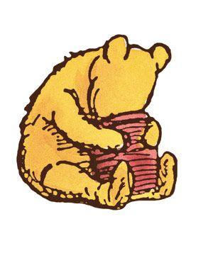 winnie the pooh head in honey pot winnie the pooh pinterest rh pinterest com Winnie the Pooh and His Honey Pot Pooh Bear Honey Pot Clip Art