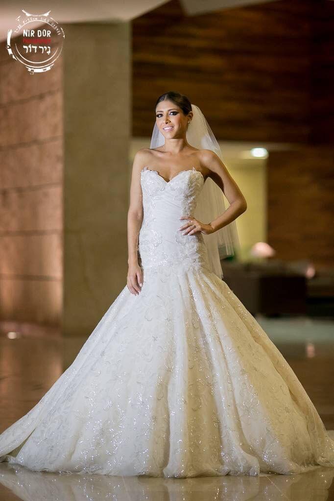 ines di santo real bride in gown eudora wedding dresses