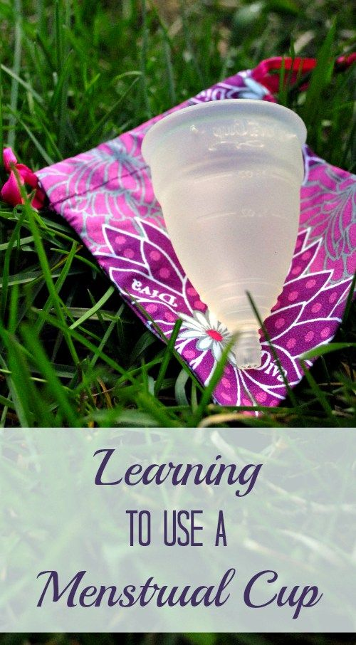how to use a menstrual cup real demonstration