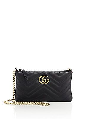 caaf9365151313 Gucci Quilted Leather Chain Wristlet IN RED Buy Bags, Gg Marmont, Leather  Chain,