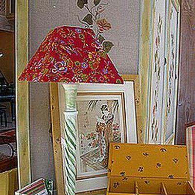 Faire soi-même son abat jour (carcasse et habillage) Bricolage - faire une chambre dans un salon