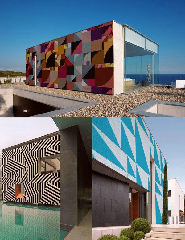 GroBartig ... Tasso Remi Rough Boris Tellegen Daim Interieur Modern Avantgarde Bunt  Wand Wall Production Artist Graffiti Künstler Schwarz Grau Illustration  Superflu ...