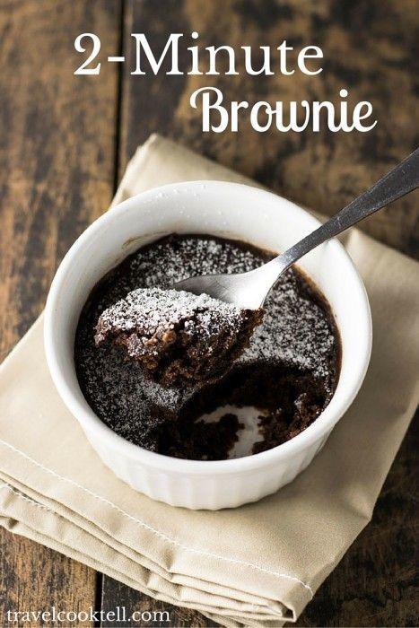 2 minute brownie recipe brownies food porn and brownie bar this quick and easy brownie recipe is ready in 2 minutes oh you dont believe me the original recipe is from food network and when i s forumfinder Choice Image