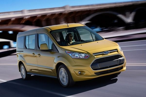 2014 Ford Transit Connect Wagon Earns Five Star Safety Rating From