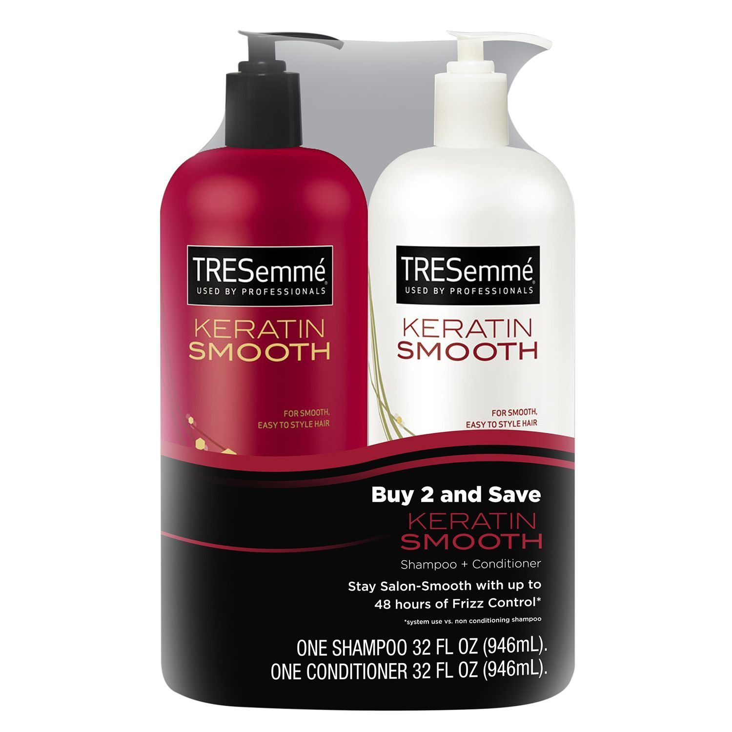 Tresemme Keratin Smooth Shampoo Conditioner Hair And Beauty Selsun 7 Herbal Anti Dandruff 120ml
