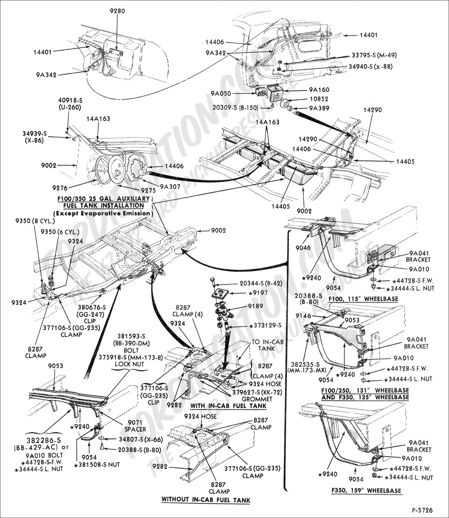 90 Ford Ranger Fuel Pump Wiring