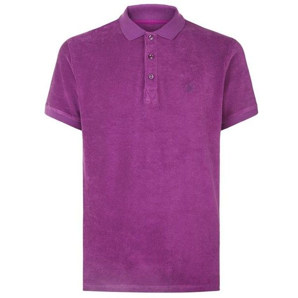 Vilebrequin Pacific Terry Cloth Polo Shirt (585 BRL) ❤ liked on Polyvore  featuring men's fashion, men's clothing, men's shirts, men's polos, mens p…