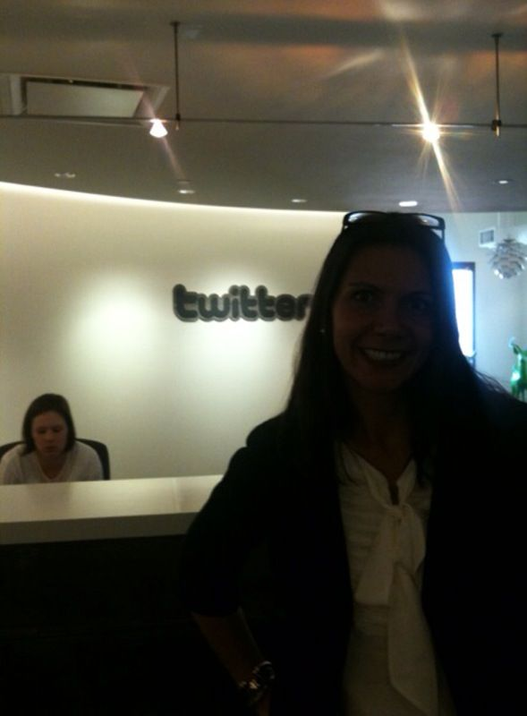 one of the most exciting days for me ever---going to @twitter's headquarters in California in November 2009!