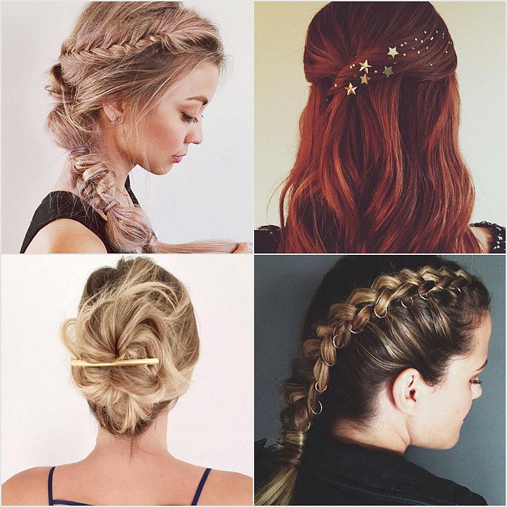 Holiday Hair Inspiration From Instagram   POPSUGAR Beauty