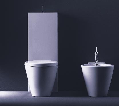 duravit starck 1 d16022 twopiece toilet by philippe stark