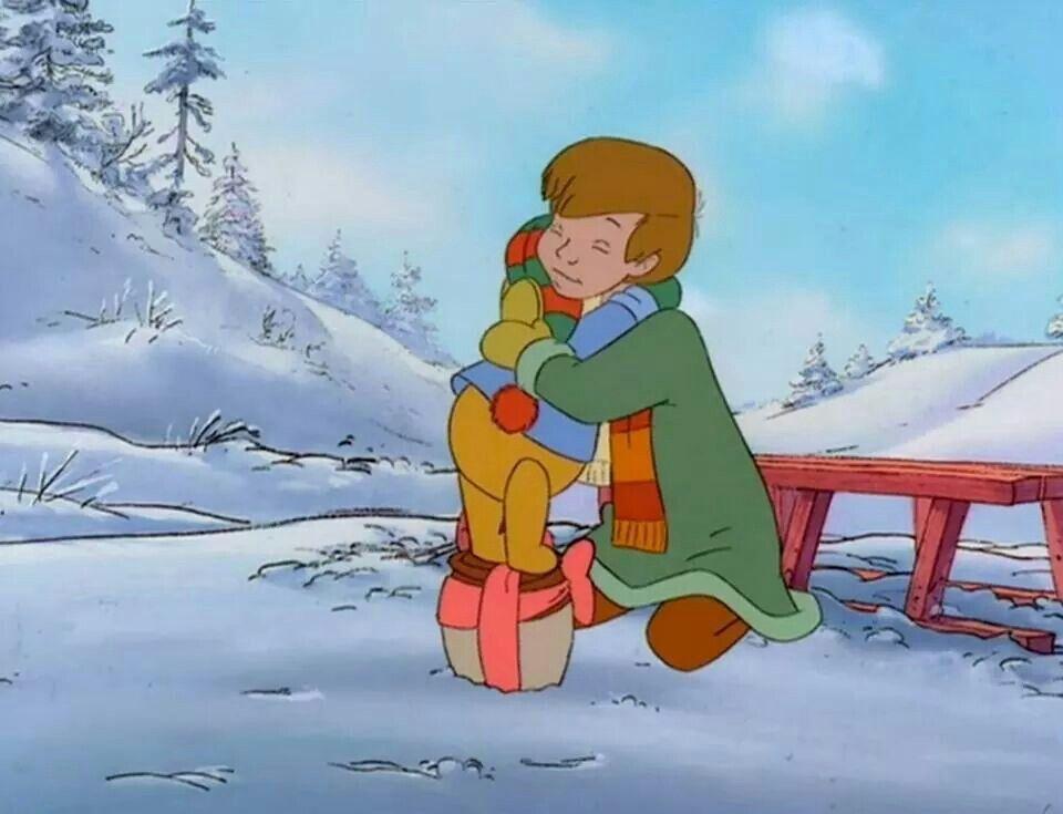 Warmest hugs from Pooh Bear