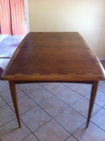 Lane Acclaim Dining Table (needs refinishing) 300 in