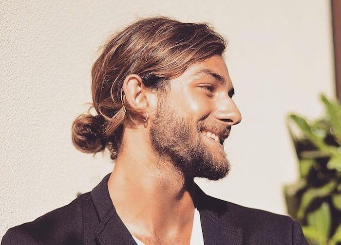 1001 Ideen Zum Thema Langhaarfrisuren Männer Haarfrisuren