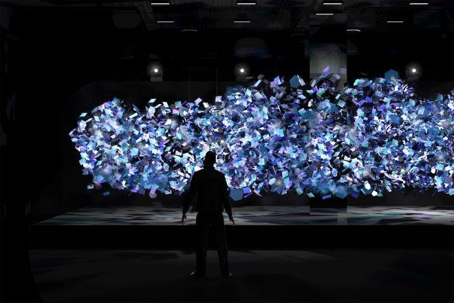 Superstudio Mobili ~ Superstudio light exhibitions and installations