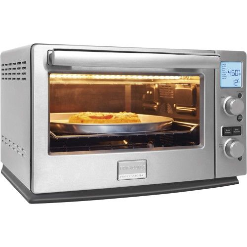 Frigidaire Professional Infrared Convection Toaster Oven Stainless Steel Angle Zoom
