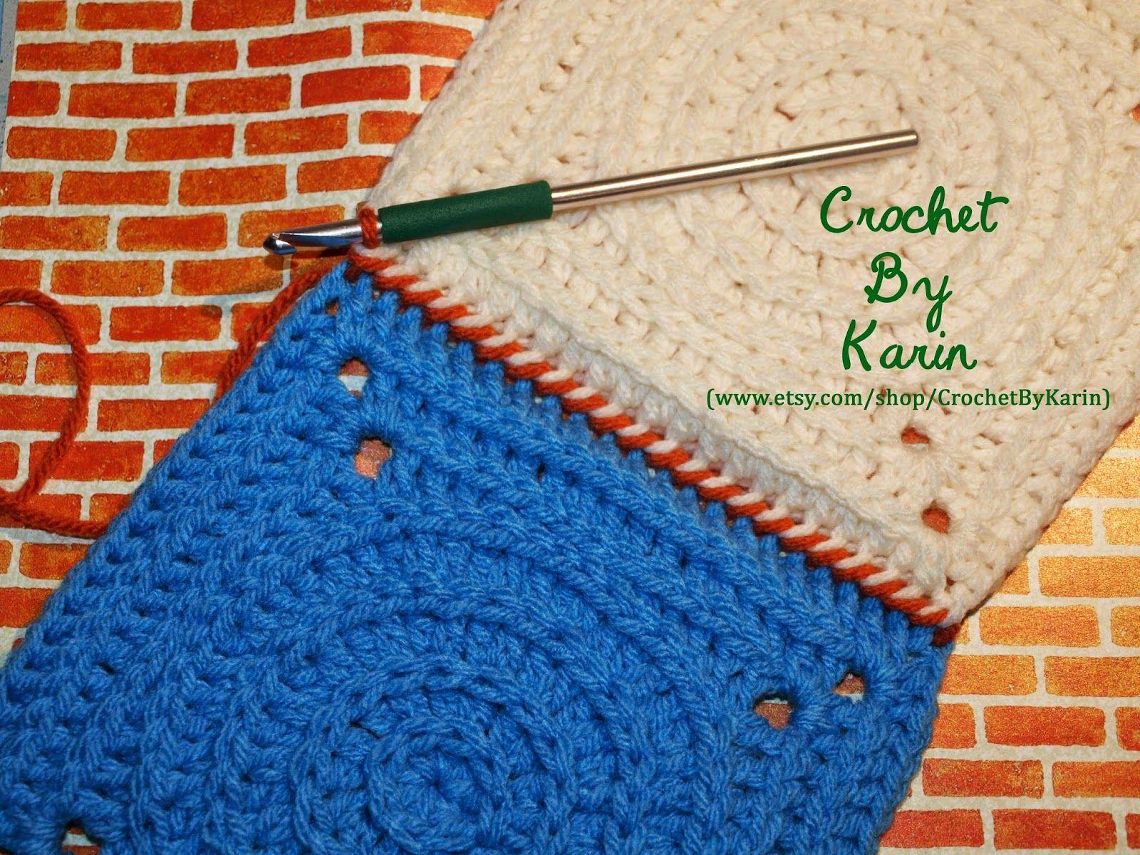CrochetByKarin: Slip Stitch Crochet Connection | Free Crochet ...