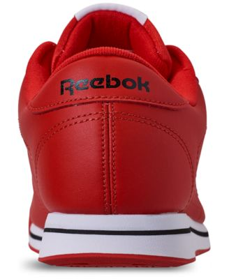 3d76b2013f4 Reebok Women s Princess Casual Sneakers from Finish Line - RED WHITE BLACK 7