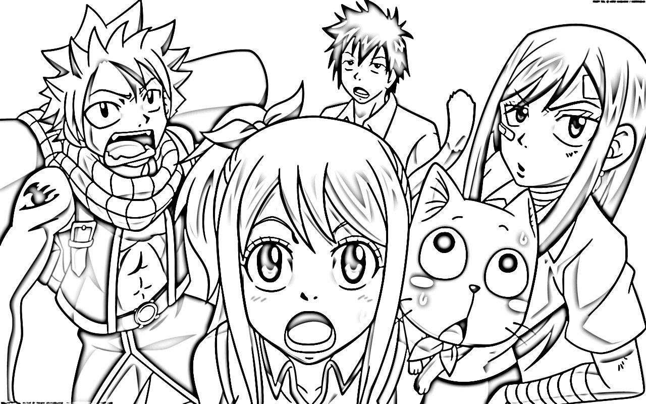Free Coloring Pages Of Happy Fairy Tail Malvorlagen Wenn Du Mal Buch Malvorlagen Tiere