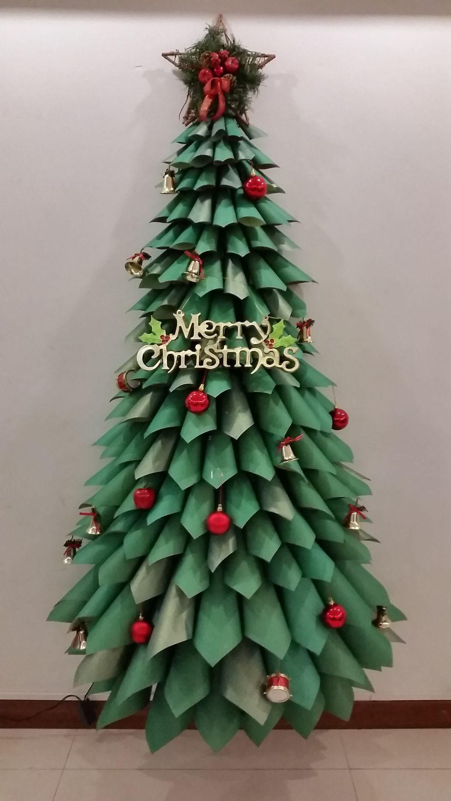 of the most creative diy christmas trees ever handmade