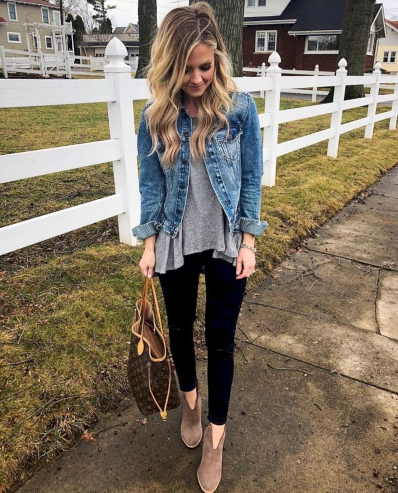47 Great Spring Outfits Ideas To Copy Now - LUVLYOUTFITS #trendyspringoutfits