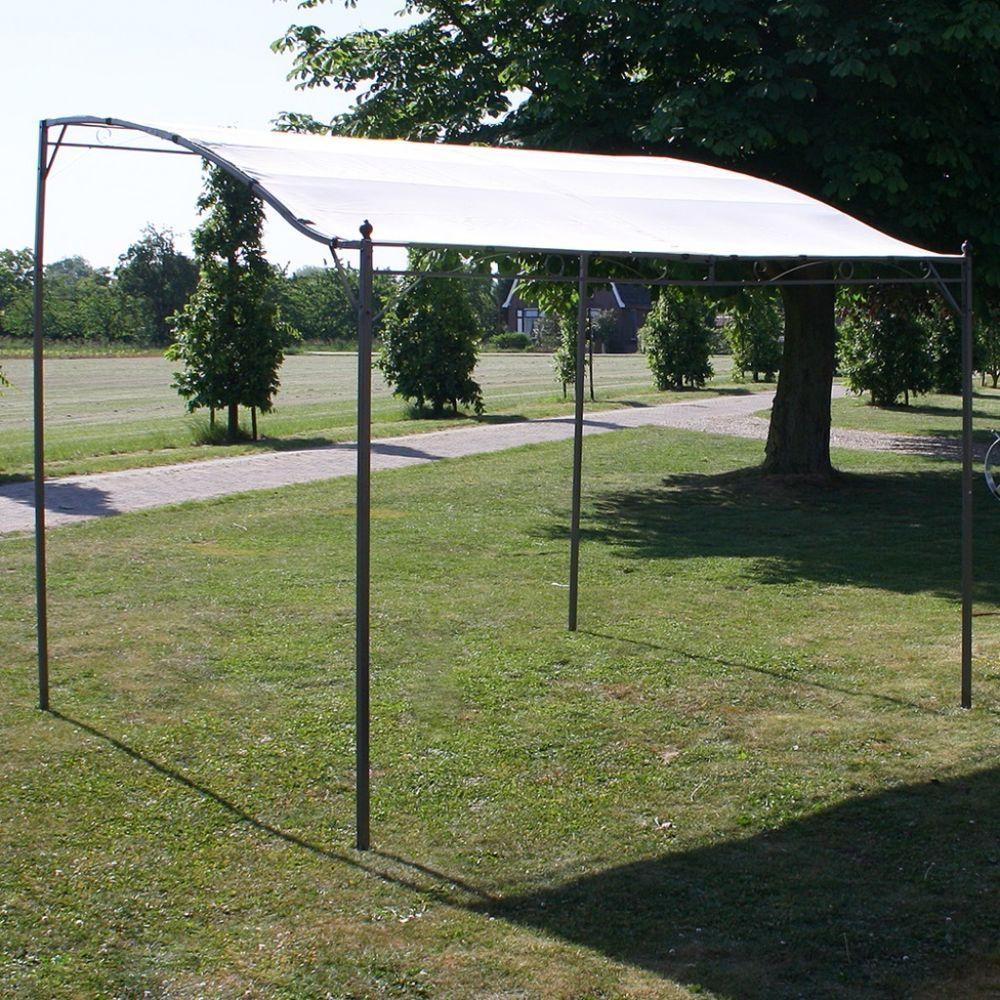 Large Door Canopy Gazebo Awning Outdoor Shelter Sun Shade Garden Patio Steel New