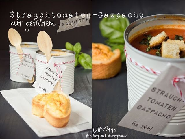Gastblogger :: Strauchtomaten-G a z p a  c h o mit gefülltem Baguette von Lililotta