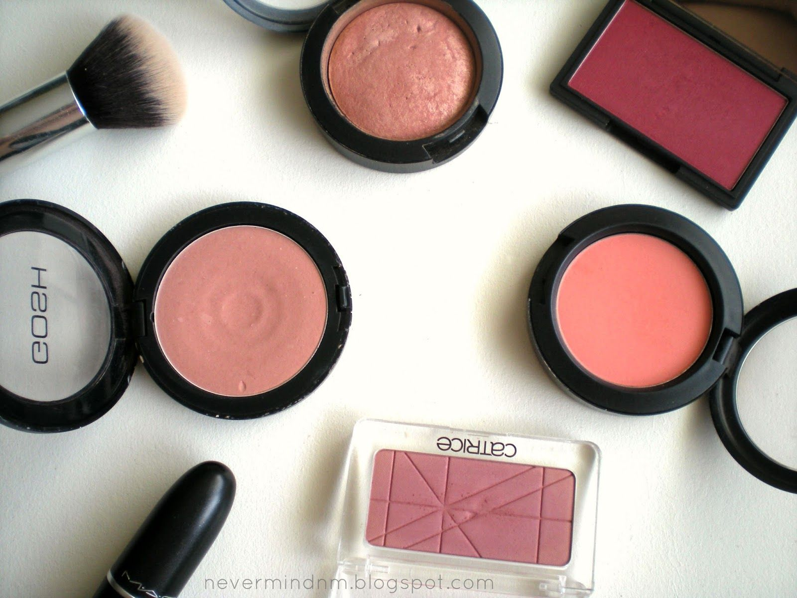 My top 5 blushes