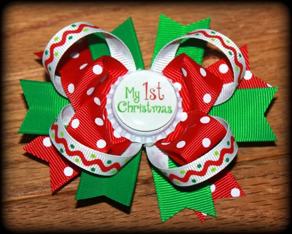 White Hair Bow  White Hair Bows White Bow Girls Hair Bow Girls Hair Clip Holiday Hair Bow White Hair Clip Christmas Hair Bows