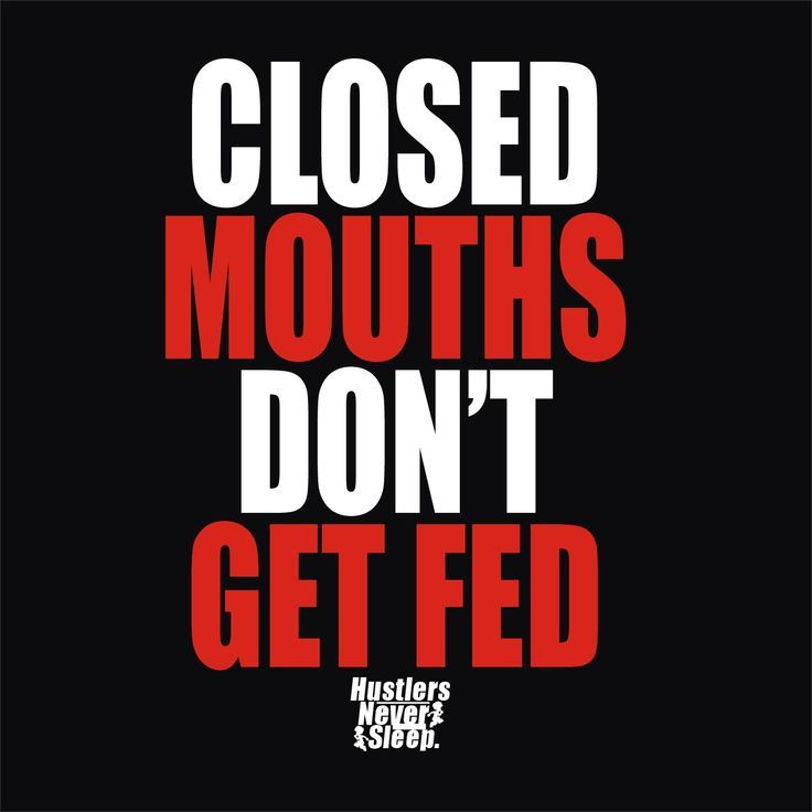 A Closed Mouth