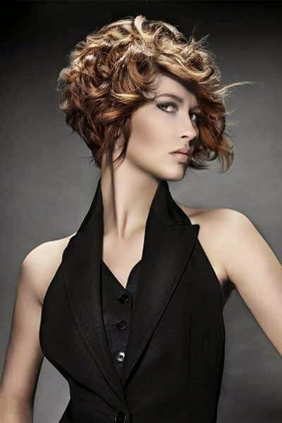 peinado-pelo-corto-rizado | peinados pelo rizado | pinterest