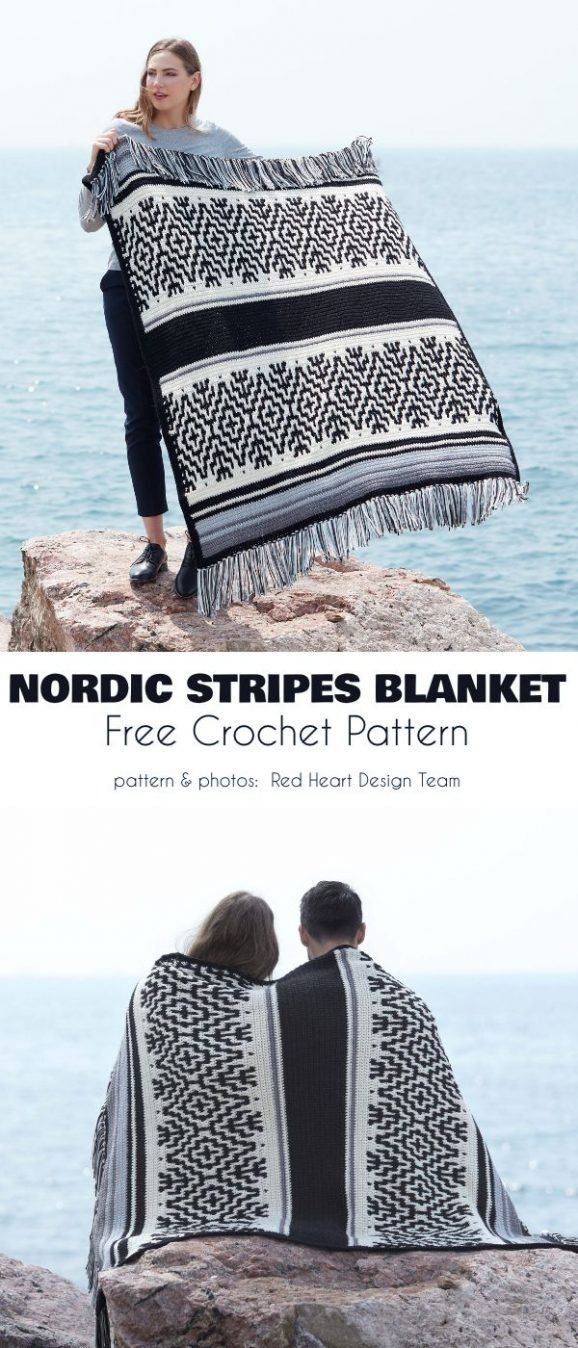 The Best Patterns for Black and White Blanket