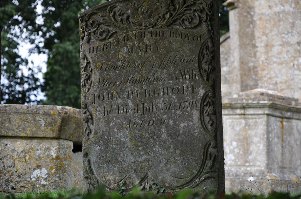Hazleton St Andrew's headstone -175  'A Midsummer Mouse' A beautiful book from Stratford-upon-Avon http://www.bwthornton.co.uk/a-midsummer-mouse.php