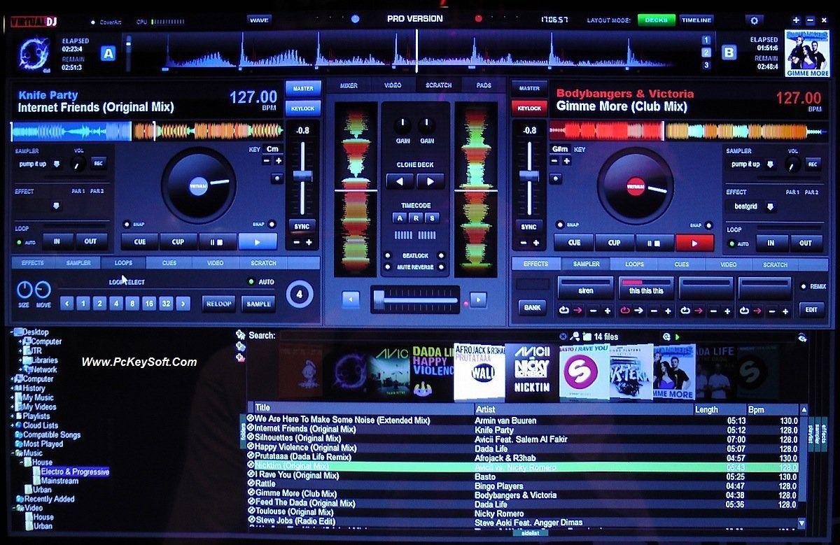 Pin en Virtual DJ Pro Crack