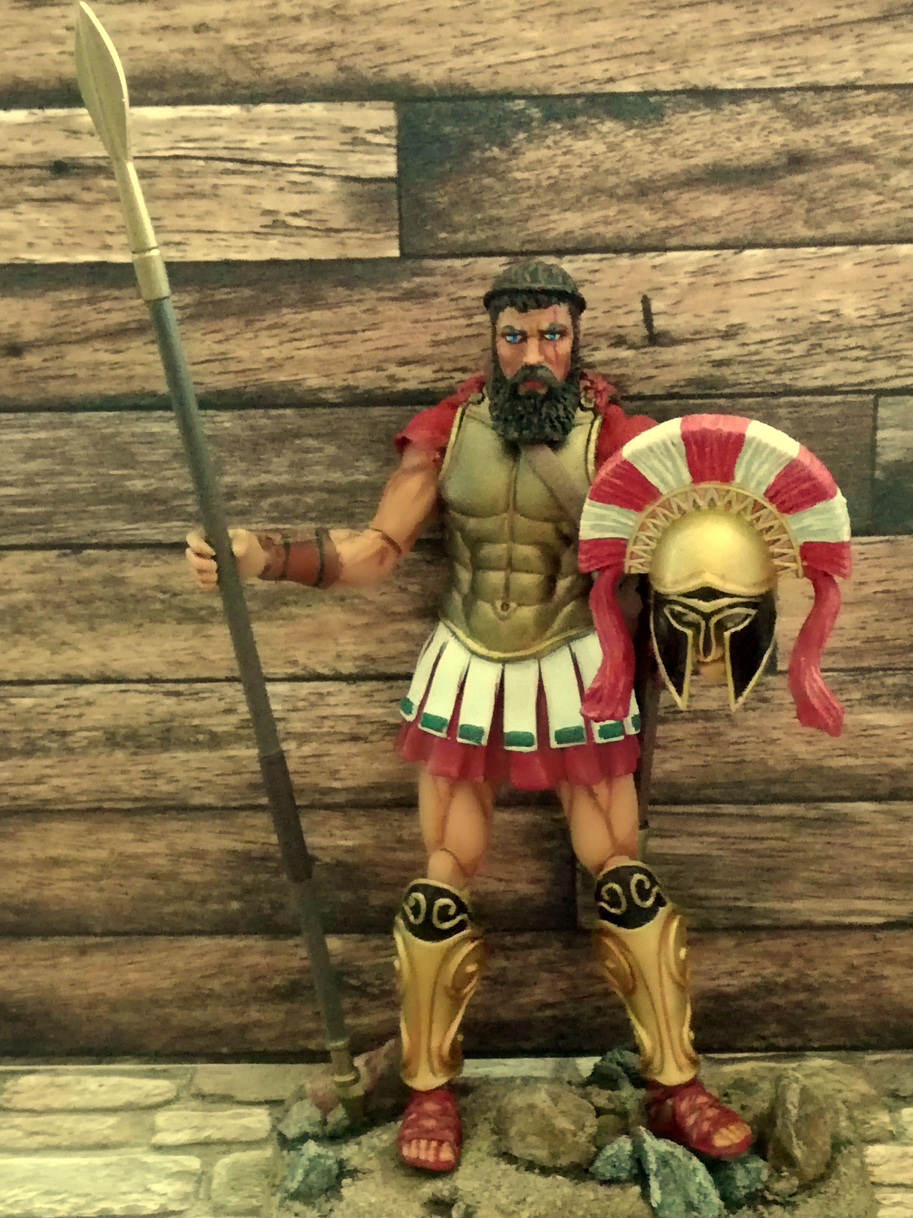 Boss Fight Studios Vitruvian HACKS LEONIDAS Spartan King you pick the parts