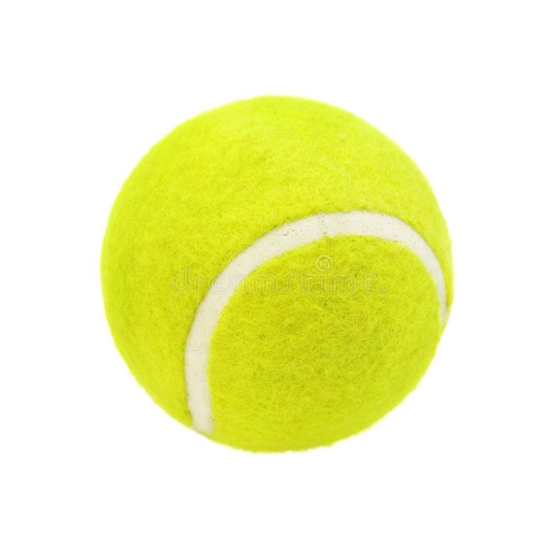 Tennis Ball Isolated On White Background Spon Ball Tennis Isolated Background White Ad Tennis Ball Tennis Ball