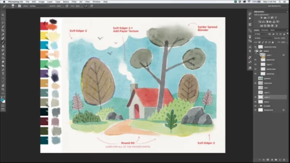 Create with Kyle T  Webster, Photoshop Brush Master | Create