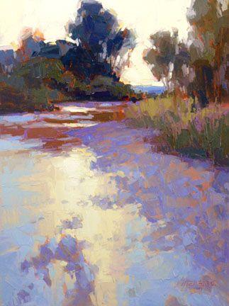 Canyon Road Contemporary Art Landscape Paintings Fine Art Landscape Art