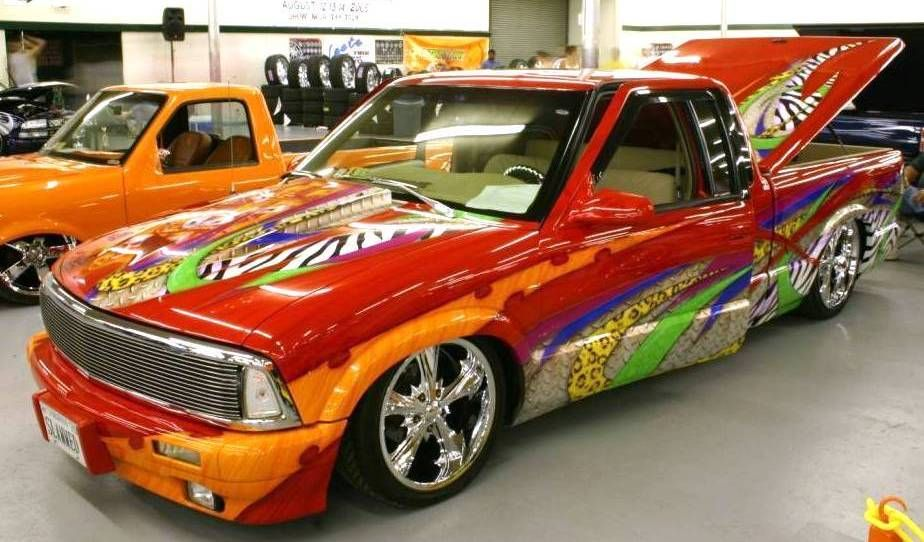 Cool Lowrider Cars Tricked Out 1994 Chevy S10 Lowrider